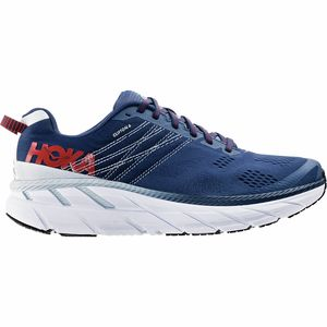 Clifton 6 Running Shoe - Men's Ensign Blue/Plein Air, 9.5 - Excellent
