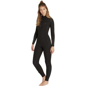 4/3 Synergy Back-Zip Full Wetsuit - Women's Black, 10 - Excellent
