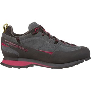 Boulder X Approach Shoe - Women's Carbon/Beet, 37.5 - Excellent