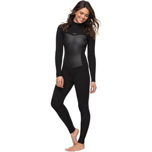 3/2 Syncro Back Zip GBS Wetsuit - Women's Black, 4 - Excellent