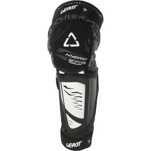 3DF Hybrid EXT Knee & Shin Guard - Kids' White/Black,One Size - Excellent