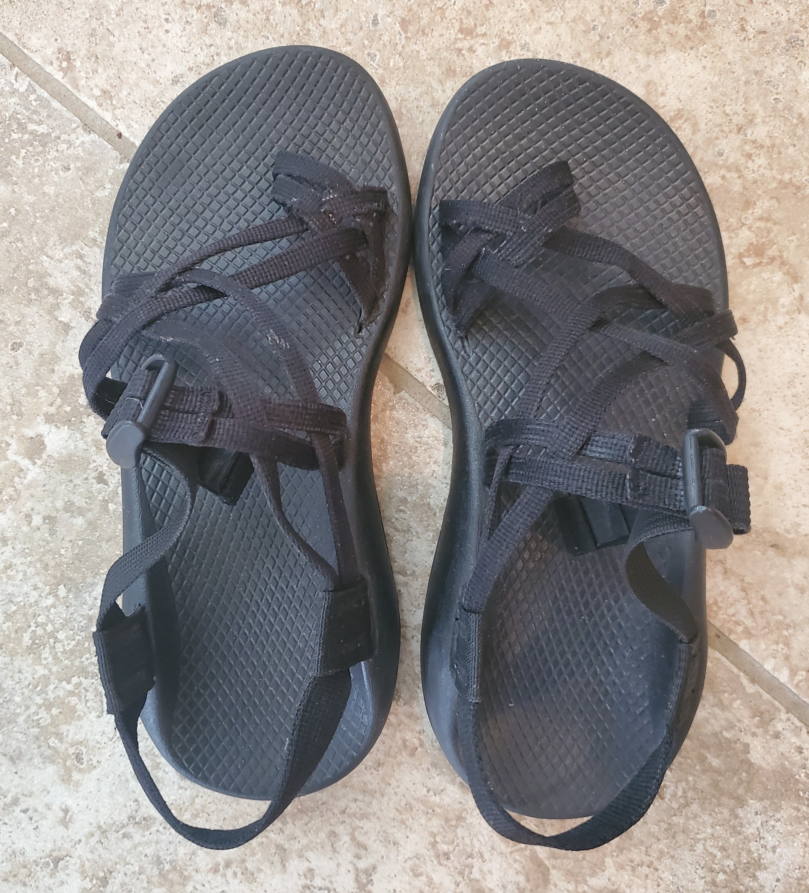 Chaco ZX/2 Yampa 8 Wide Women's Sandals | BLACK 8W