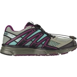 X-Mission 3 Trail Running Shoe - Women's Shadow/Dark Purple/Nile Blazer, US 7.5/UK 6.0 - Excellent
