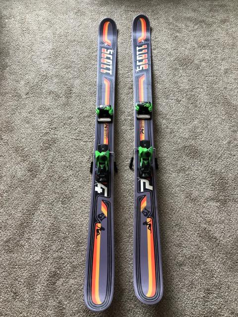 Scott P4, 181 cm, Mounted with basically new Tyrolia Attack 13 binding