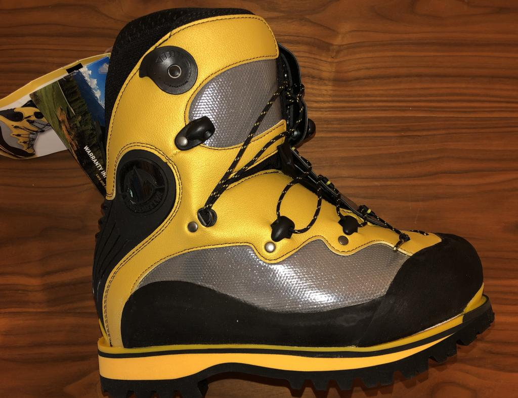 Brand New La Sportiva Spantik Mountaineering Boots - Size 40.5