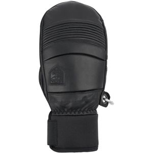 Leather Fall Line Mitten - Men's Black, 8 - Fair