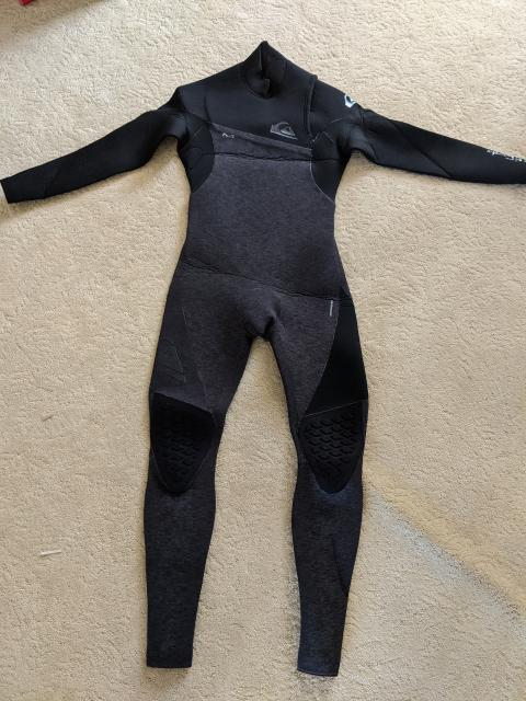 NEW Quicksilver Highline 4/3 Full Wetsuit Chest Zip 2018/2019