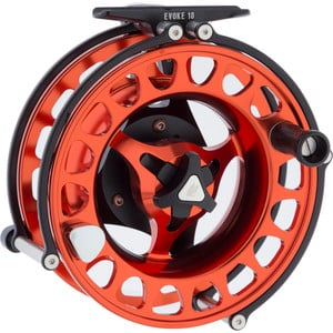 Evoke Series Fly Reel Stealth/Blaze, 7/8 Weight RHR - Excellent