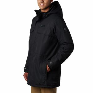 Rugged Path Parka - Men's Black, M - Excellent