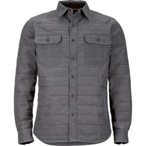 Muir Insulated Flannel - Men's Slate Grey, L - Like New