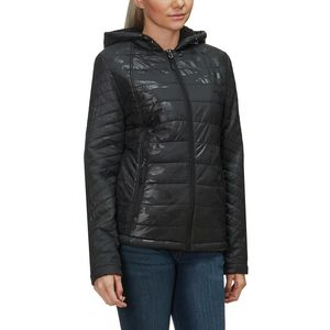 Sherpa Lined Insulated Jacket - Women's Black Camo, S - Good