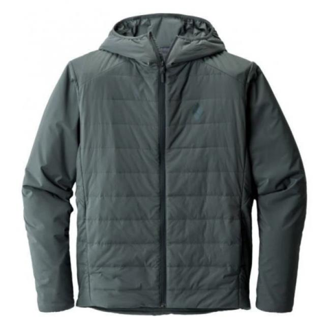 Men's Black Diamond First Light Hoody (Size Small) - Adriatic