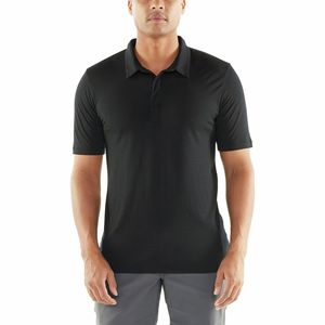 Solace Polo Shirt - Men's Black, L - Good