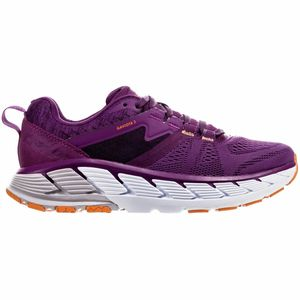 Gaviota 2 Running Shoe - Women's Grape Juice/Bright Marigold, 8.5 - Excellent