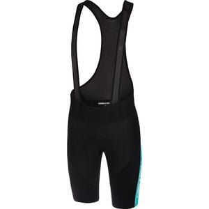 Velocissimo IV Bib Short - Men's Black/Sky Blue, XXL - Good