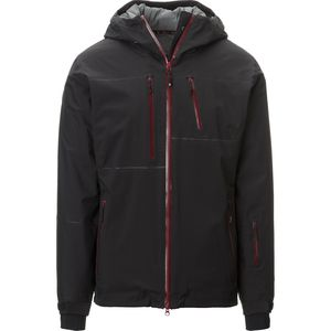 Bombshell Insulated Jacket - Men's Black/Oxblood, M - Excellent