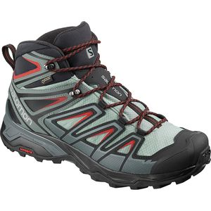 X Ultra 3 Mid GTX Hiking Boot - Men's Lead/Stormy Weather/Bossa Nova, US 12.0/UK 11.5 - Excellent