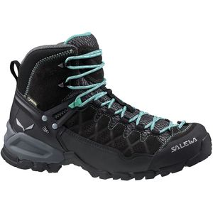Alp Trainer Mid GTX Hiking Boot - Women's Black Out/Agata, 9.5 - Good