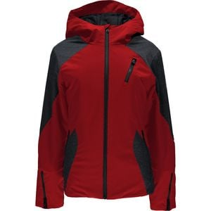 Avery Hooded Jacket - Women's Red/Black, S - Excellent
