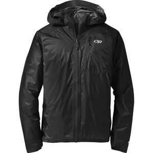 Helium II Jacket - Men's Black/Storm, XL - Excellent