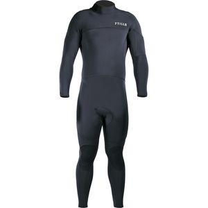 Surf 3/2 Back-Zip Fullsuit - Men's Black, LT - Excellent