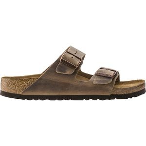 Arizona Soft Footbed Leather Narrow Sandal - Women's Tobacco Oiled Leather, 37.0 - Good