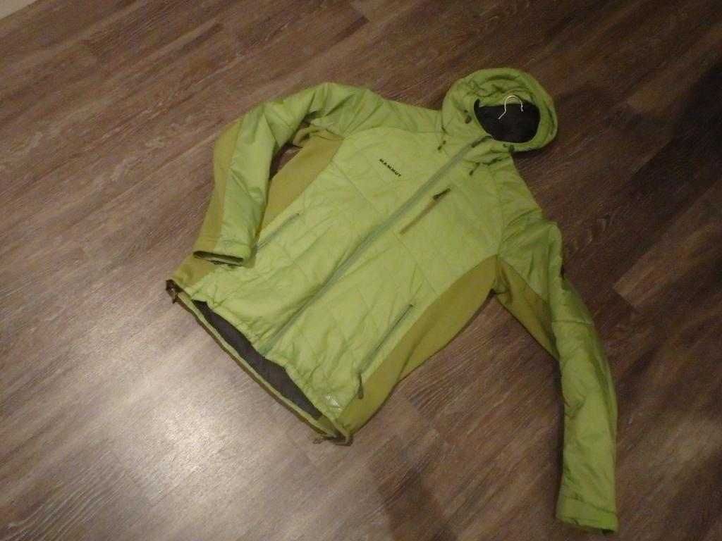 mammut Insulated Hybrid Hooded Jacket