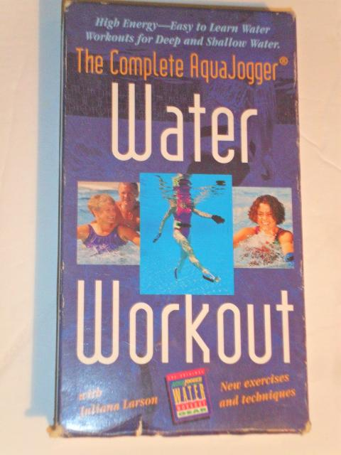 Water Workout The complete Aqua Jogger VHS