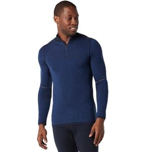 IntraKnit Merino 250 Thermal 1/4-Zip Top - Men's Cobalt, M - Good