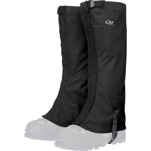 Verglas Gaiter Black, XL - Excellent