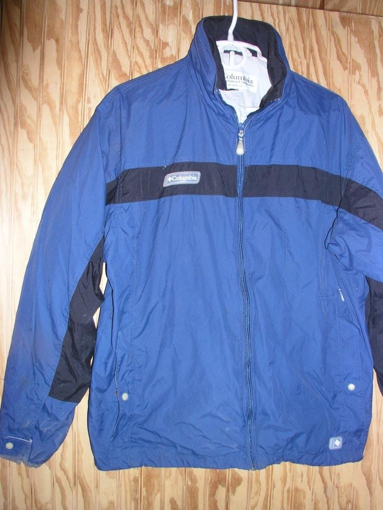 Columbia Waterproof/breathable Rain Jacket Size Large