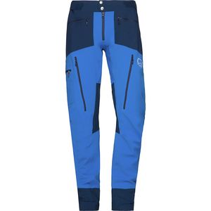 Fjora Windstopper Pant - Men's  Hot Sapphire, XL - Good
