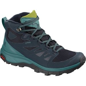 Outline Mid GTX Hiking Boot - Women's Navy Blazer/Hydro/Guacamole, US 8.5/UK 7.0 - Fair