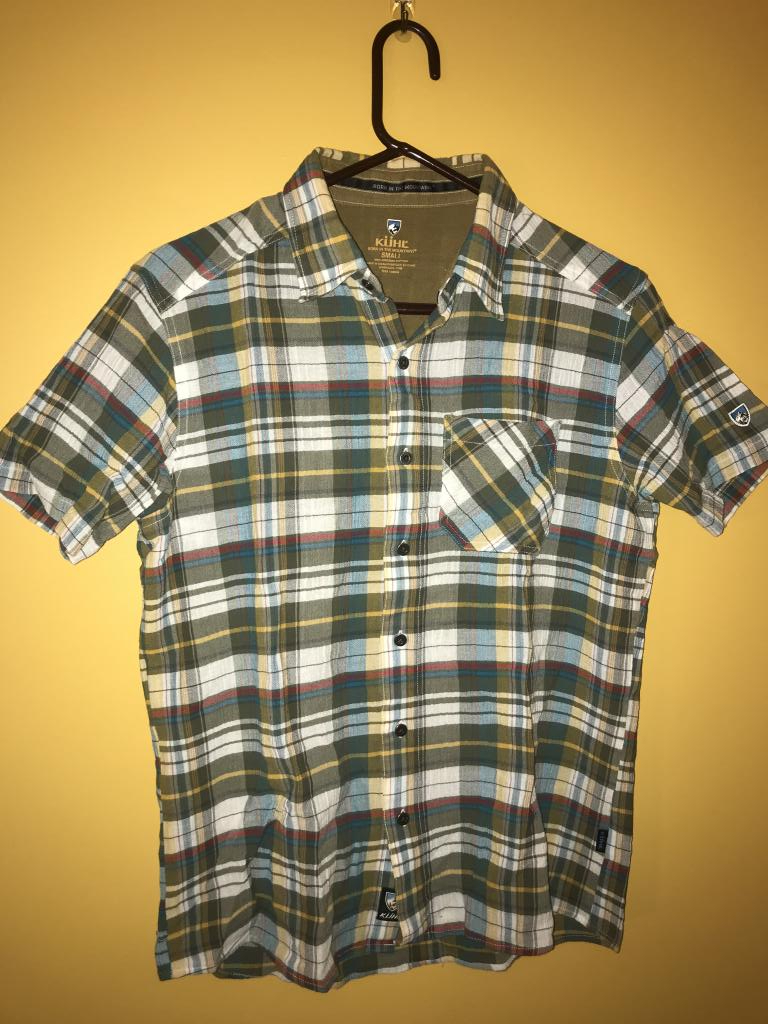 Kuhl Tropik Short-Sleeve Button-Down Shirt, Men's Size Small