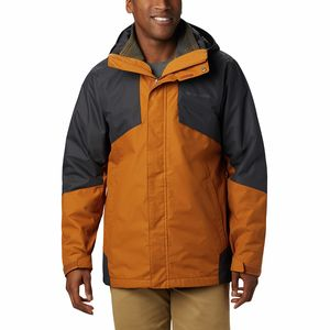 Bugaboo II Interchange Jacket - Men's Burnished Amber/Shark, M - Good