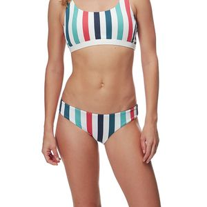 La Jolla Reversible Bikini Bottom - Women's Nantucket/Dusk, M - Excellent