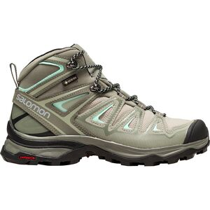 X Ultra 3 Mid GTX Hiking Boot - Women's Shadow/Castor Gray/Beach Glass, US 7.5/UK 6.0 - Good