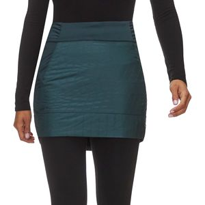 Trekkin Insulated Mini Skirt - Women's Blue Spruce, XS - Fair