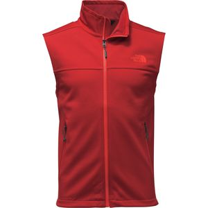 Apex Canyonwall Fleece Vest - Men's Cardinal Red/Cardinal Red, XL - Excellent