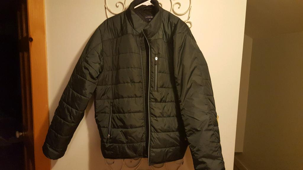 Mens XL Land's End Primaloft Jacket....Forest Green....Like New