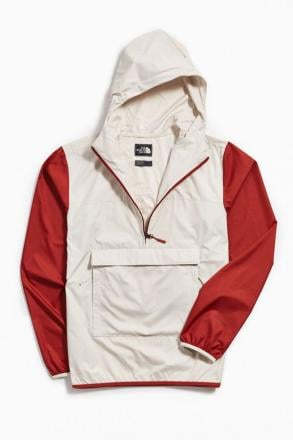 NWT Authentic The North Face Fanorak Jacket - Mens (XL) Vintage white
