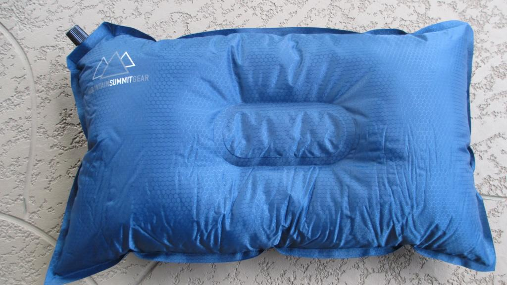 Self Inflating Backpacking / Camping Pillow