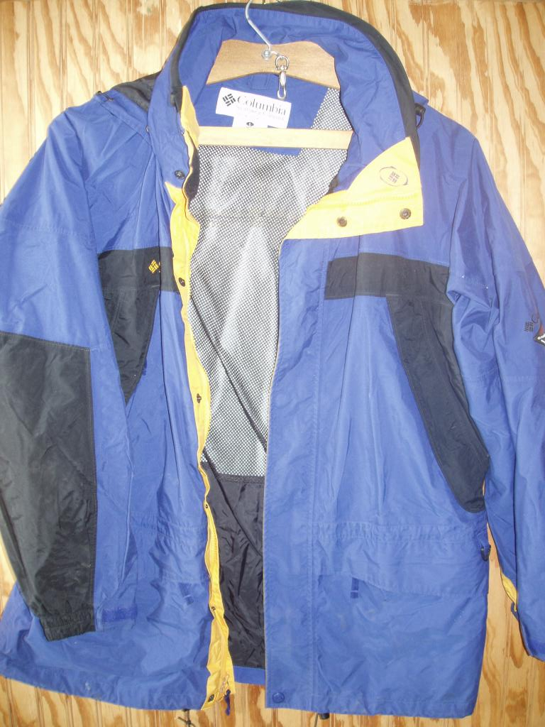 Columbia OMNI TECH Waterproof/Breathable Parka Mens Large