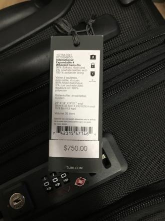 Tumi luggage alpha 3