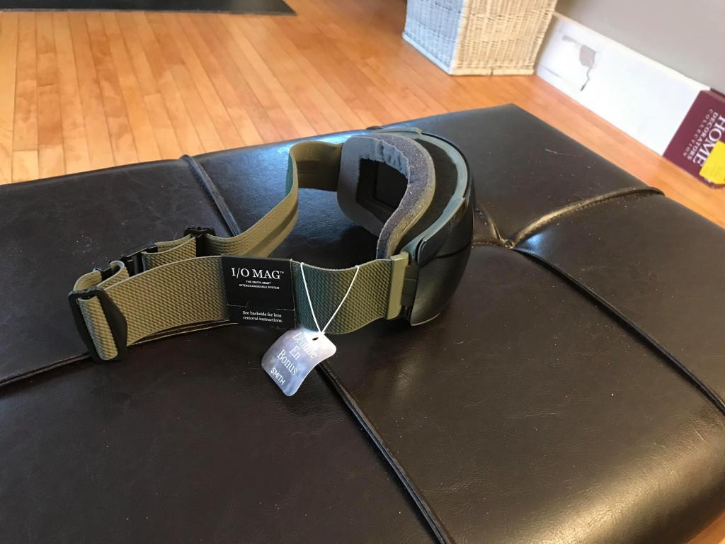 Smith I/O MAG Goggles Brand New