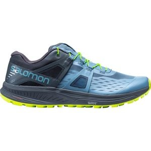 Ultra Pro Trail Running Shoe - Men's Bluestone/Ebony/Acid Lime, US 14.0/UK 13.5 - Good