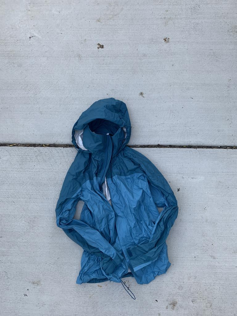 Marmot PreCip Rain Jacket, Lightly Used