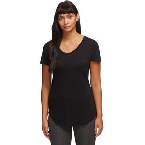 Solace SS Scoop Shirt - Women's Black, M - Excellent