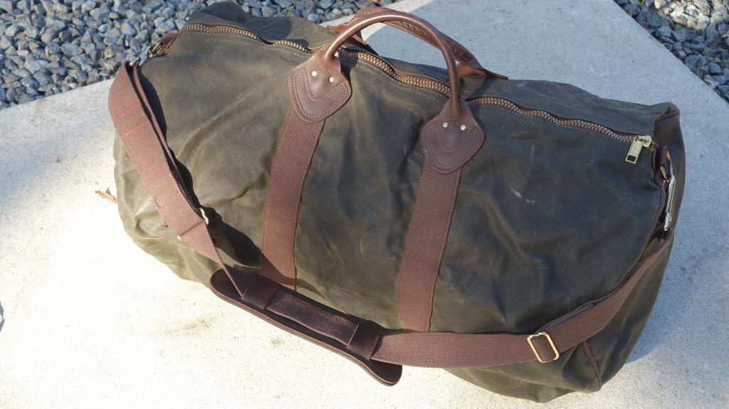 2 L.L. Bean Duffle Bags in very good condition