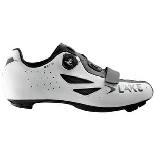 CX176 Cycling Shoe - Men's White/Black, 44.0 - Good